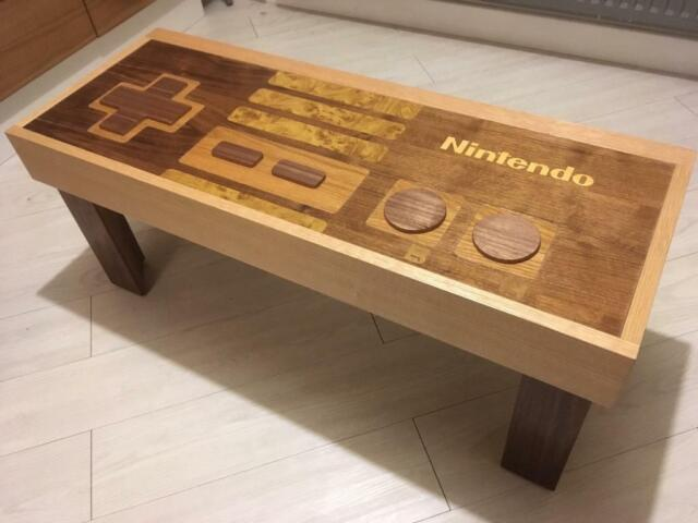 Controller Coffee Table.Nes Controller Coffee Table In Countesthorpe Leicestershire Gumtree