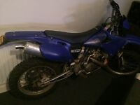 Yamaha yzf 426 ROAD REGISTERED