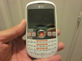 White LG C300 mobile phone