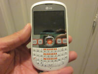 White LG C300 mobile phone