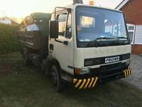 Leyland DAF grab lorry 10 ton down rated to 7.5 ton