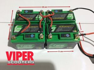 Electric scooter Lithium Batteries , Will Fit Most E scooters,1000W, 1300W 1600W