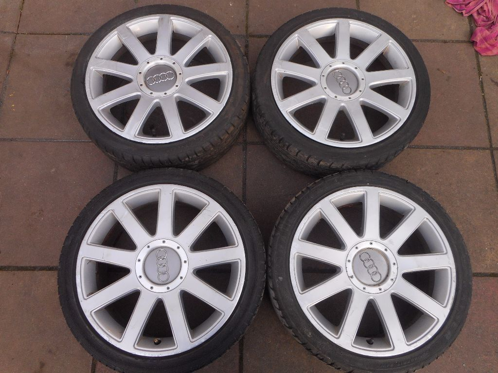 Genuine Audi A2 17 Quot Inch Rs4 Alloy Wheels In Enfield