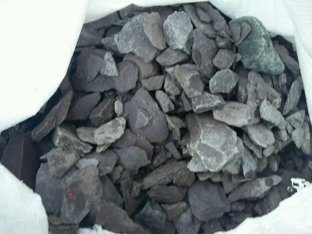 10 bags of slate chips