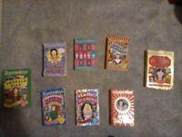 Jacqueline wilson book bundle hetty feathers , tracy beakers , etc