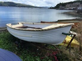 10ft Fibreglass Boat with trailer