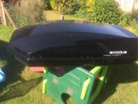 Halfords exodus roof box similar to Thule