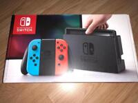 Nintendo switch + 2 games