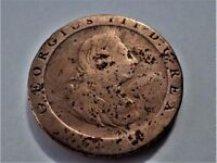 1797 - George III Cartwheel - One Penny Coin - The Heaviest & Largest British Coins Ever Issued
