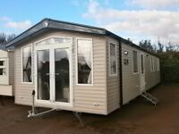 3 Bed caravan with decking and storage