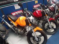 Zontes Monster 125cc, Learner legal commuter motorcycle, Finance options available, CBT Motorbike