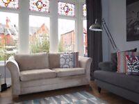 Mink Chenille NEXT 3 Seater Sofa