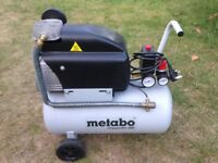 Metabo Classic Air 255 Compressor 24 Litre 8 Bar 240V - Hardly Used - £95