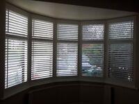 WINDOW SHUTTERS FOR BAY WINDOW BRAND NEW