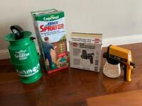 Cuprinol Fence Sprayer & Spray gun