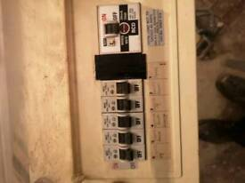 wylex fuse box with fuses