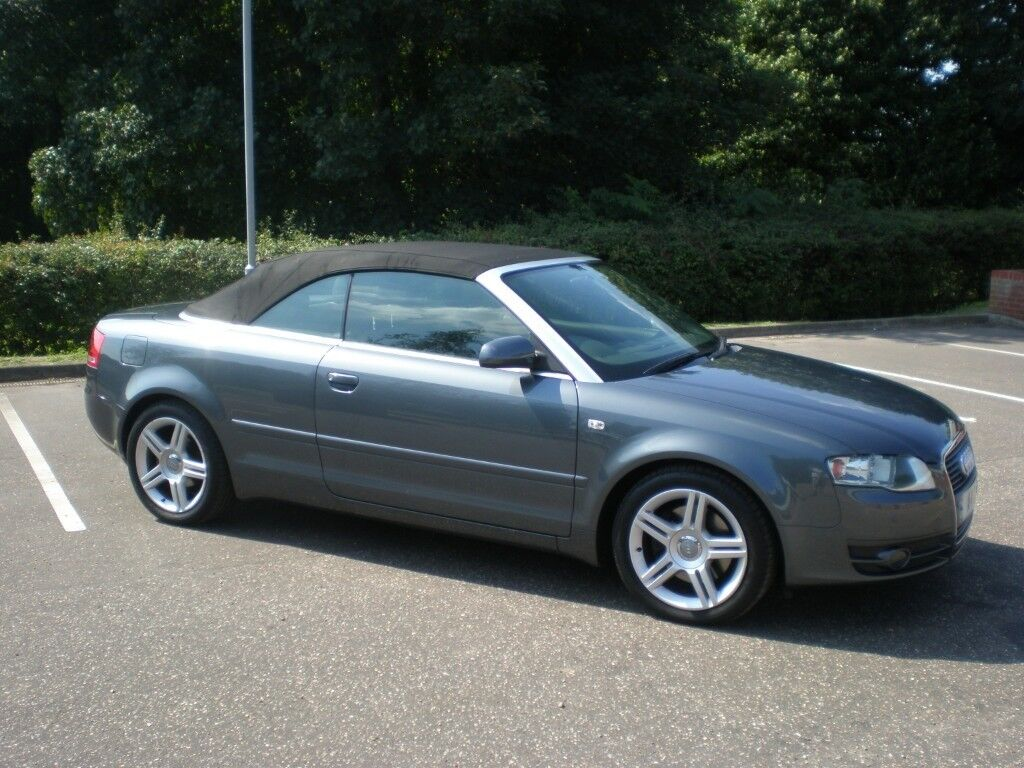 2006 Audi A4 Cabriolet 1.8T, very good condition
