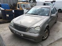 Mercedes Benz c e class car spare parts available