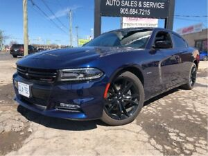 2017 Dodge Charger R/T PLUS LEATHER MOON ROOF BIG SPOILER