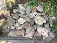 Gumtree; Garden stones for decoration or garden wall various sizes