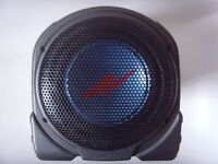 KENWOOD 100W Active Powered Car Subwoofer