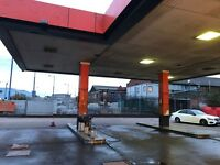15 YEAR LEASE ON BUSY CARWASH/TYRE PETROL STATION FOR SALE WOLVERHAMPTON