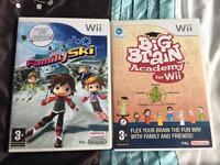 Nintendo Wii Games x2