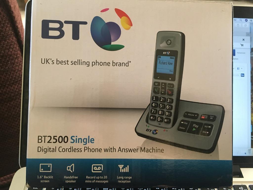 BT phone and answering machine Brand New