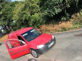 Vauxhall combo 1.7 12month mot 2007