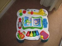 Activity Table and Baby Walker