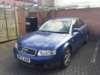 Audi A4 2.0 Petrol - owned since 2012 cheap bargain