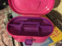 Girls Jewellery bead box carry case toy game
