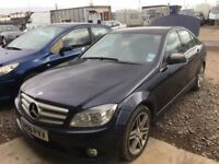 MERCEDES C 220 CDI W2O4 2008 YEAR PARTS AVAILABLE