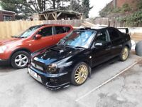 Subaru impreza wrx turbo 2001 private plate included px swaps sti st vxr mps gti evo