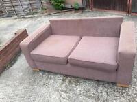 Beautiful Brown sofa bed
