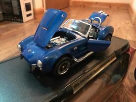40th anniversary limited edition cobra 1:18 model car