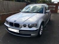 Lovely Silver BMW 316 Compact 3 Series