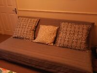 Three-seat sofa-bed, Ikea Beddinge Lovas