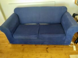 Two seater sofa bed