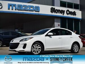 2013 Mazda MAZDA3 GS AUTO,ACCID FREE,1 OWNER, A/C, B/TOOTH,CRUIS