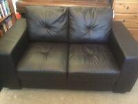 Black sofa - good condition