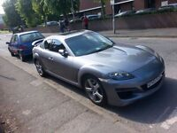 modifed mazda rx8 231 fully working no hot or cold issues £23 a month tax