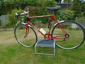 1980's Raleigh Europa - one owner more than 30 years, all as original