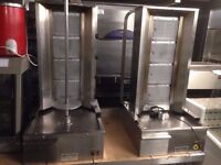 RESTAURANT KITCHEN SECONDHAND CAFE COMMERCIAL GRILL SHAWARMA KEBAB CATERING SERVICED CUISINE