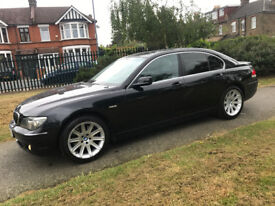 BMW 7 Series 3.0 diesel - BLACK LEATHER