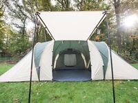 Skandika Daytona 6 Person Man Family Dome Tent Mosquito Mesh Camping Green Not Used
