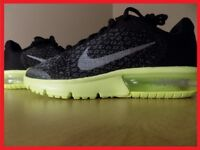 NIKE AIR MAX SEQUENT 2 ,Size UK5.5 Brand New Black/Anthracite