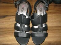 Brand New Yours Sandals with Heels 7 extra wide