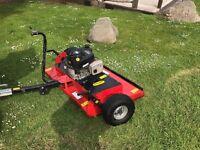 Quad X ATV Rotary Paddock Topper Mower