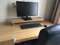 Ikea Desk with chair, like new
